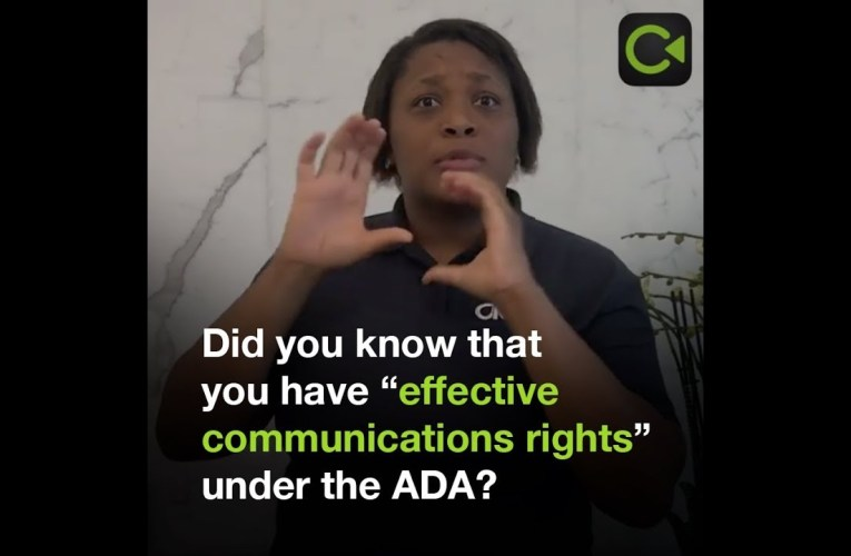 Deaf Ecosystem Spotlight – Disability Rights California – Convo