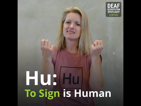 Deaf Ecosystem Spotlight – Melissa Malzkuhn (#tosignishuman) – Convo