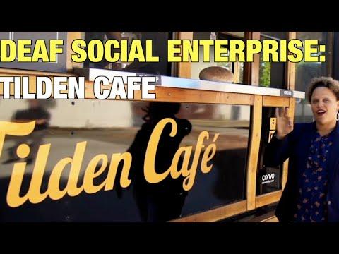 Deaf Social Enterprise: Tilden Cafe in Fremont, California