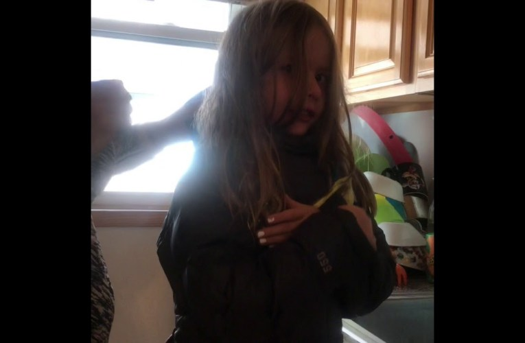 How to get homemade slime out of your kid's hair