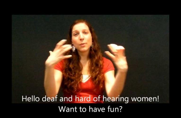 Deaf Women Day Champagne Brunch
