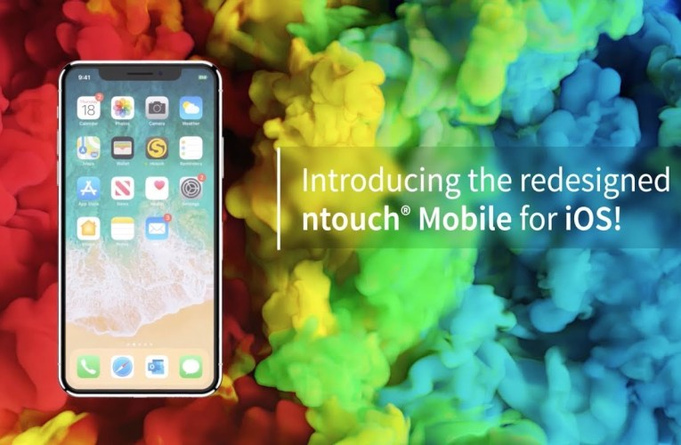 Introducing the redesigned ntouch Mobile for iOS!