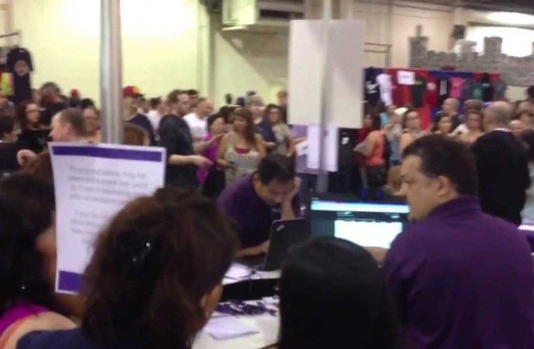 Purple's Booth at DeafNation Expo – Pomona