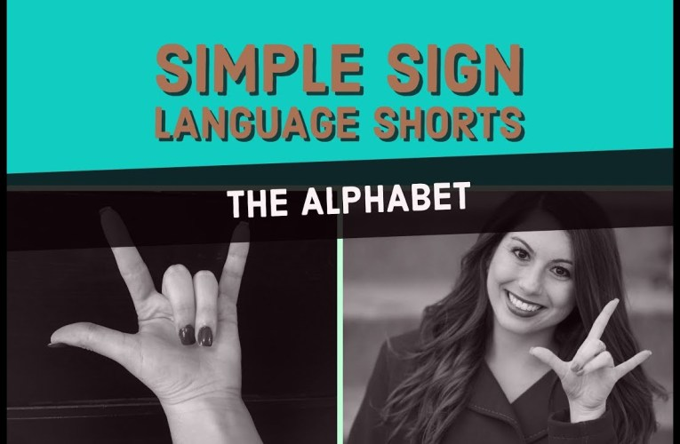 The American Sign Language Alphabet