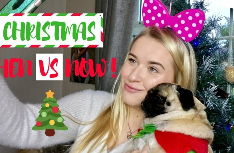 Christmas THEN VS NOW!!