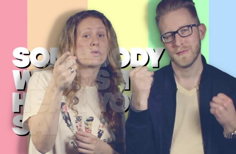 """""""Somebody Loves You"""" in ASL"""