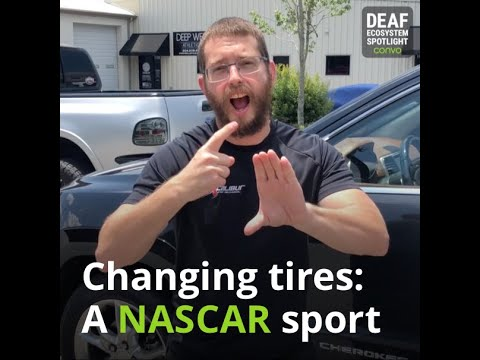 Deaf Ecosystem Spotlight – Christopher Bederka (NASCAR)