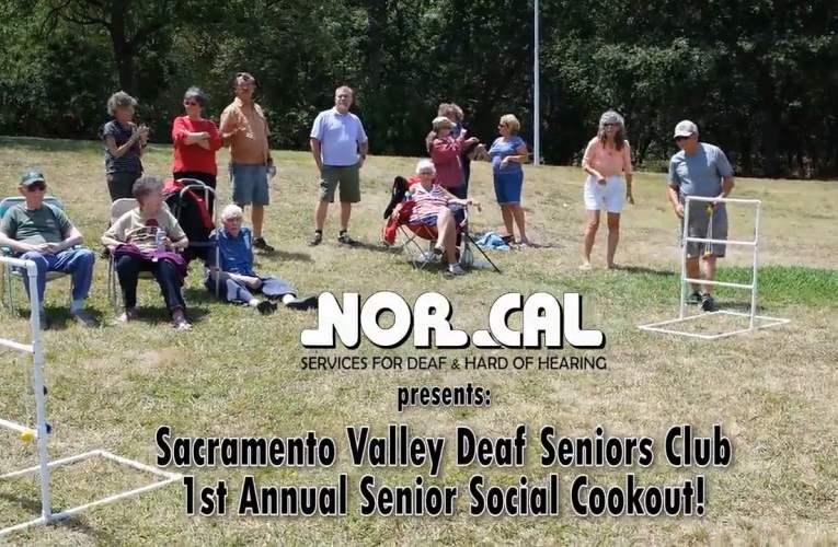 Deaf Senior Social Cookout