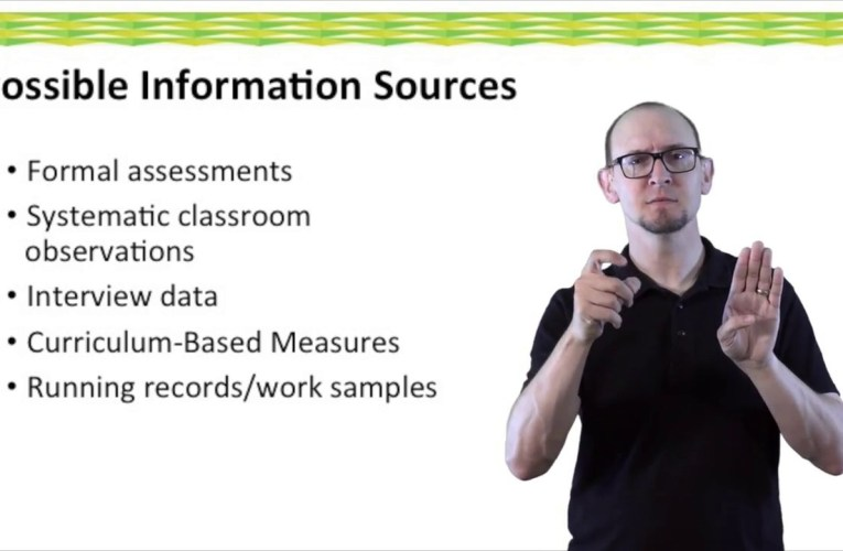 IEP Discussion Guide:  What Specific Data is Available