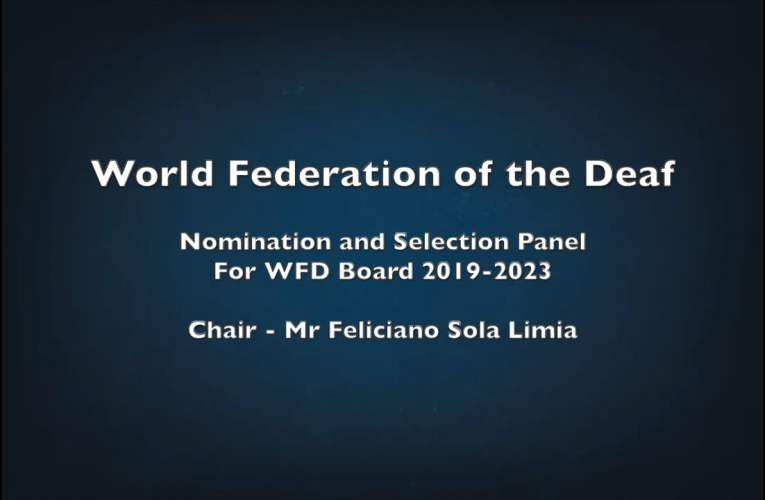 Nomination and Selection