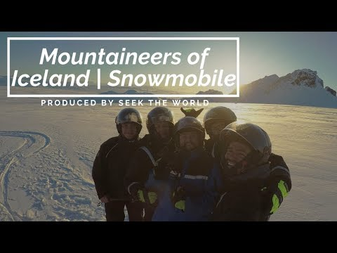 Mountaineers of Iceland | Snowmobile