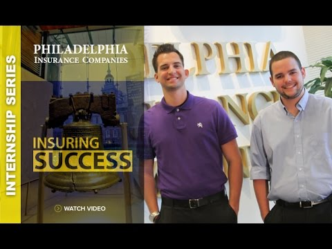 Internship Series 2015: Philadelphia Insurance Companies with Jeffery Willoughby and Joshua Sechman