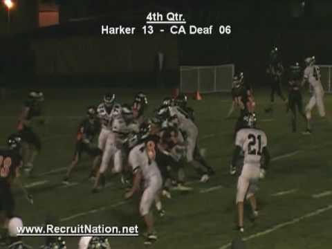 4th Q, Harker vs CA Deaf, Varsity, 10/1/09