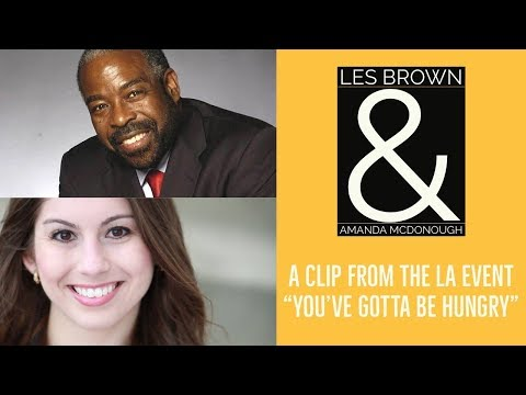 Les Brown and Amanda McDonough Clip: It is time to break down barriers!