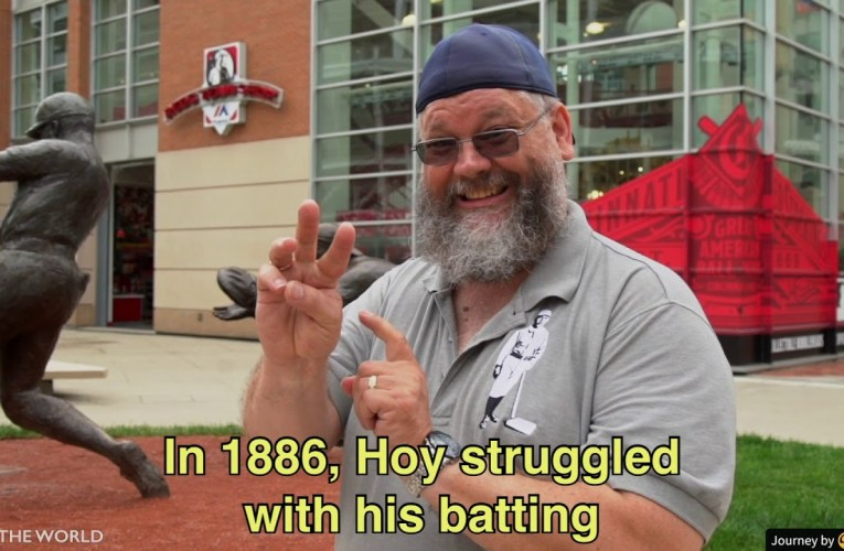 "The History of William ""Dummy"" Hoy – A Deaf Baseball Player"