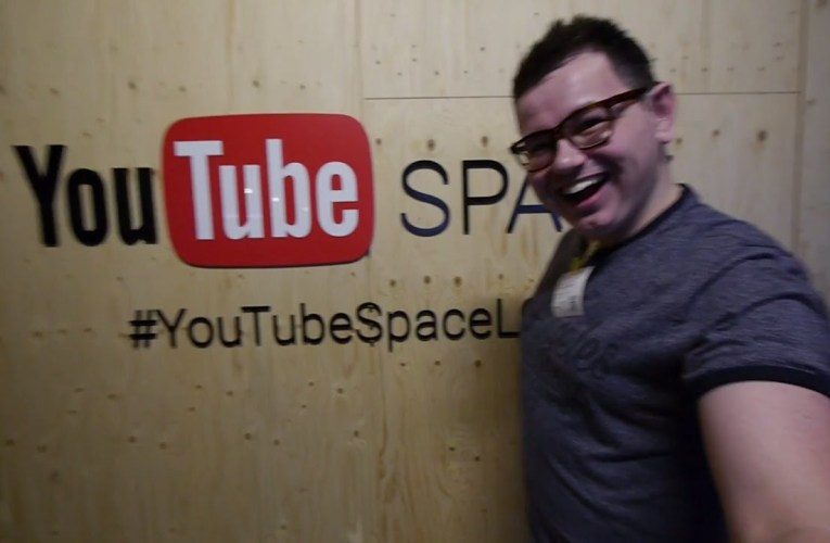 YouTube Space London Creator Day   Deaf vlog disability subtitles cc accessibility
