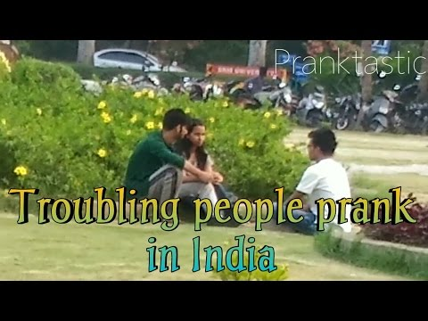 Epic Troubling People Prank in India at SRM University-By Pranktastic