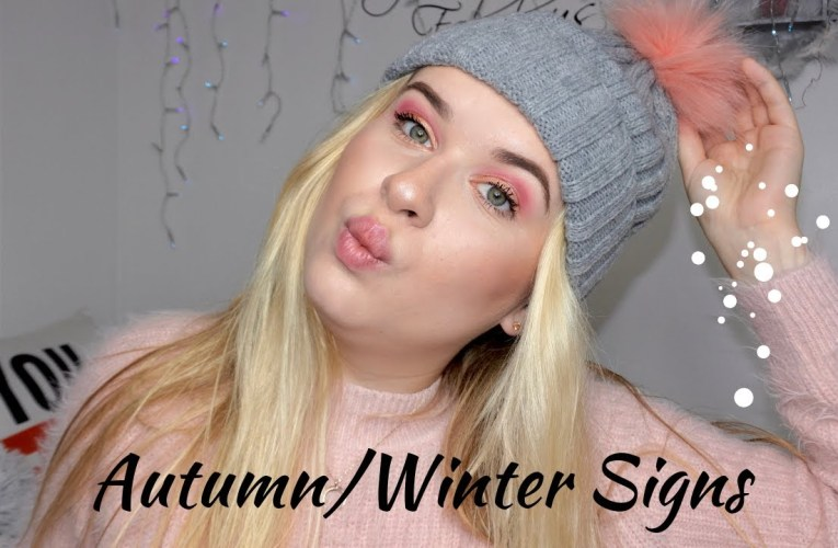 Autumn/Winter Sign Tutorial (BSL)