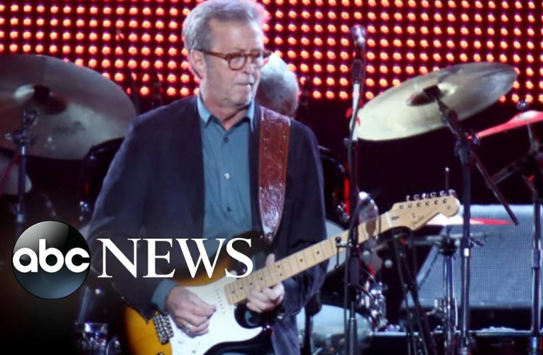 Eric Clapton reveals he is going deaf