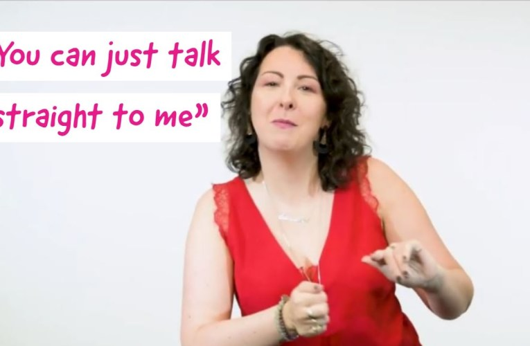 """""""People talk to my hearing aid instead of me"""" – Comedian Sam Baines on how to be more deaf aware"""