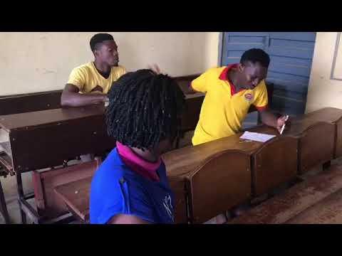 Examination preparation (DEAF TALENT COMEDY)