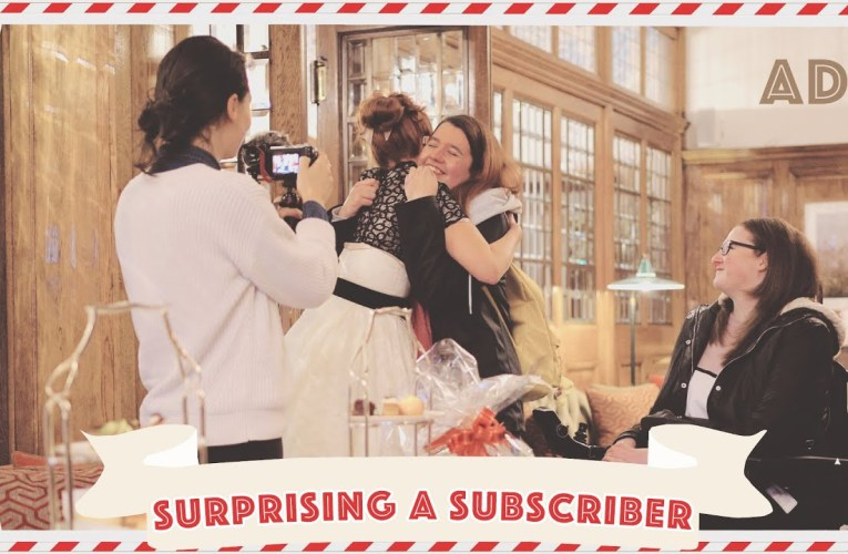 Surprising a subscriber! // AD // Vlogmas 2019 Day 1