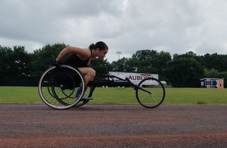 answering your questions on wheelchair racing!