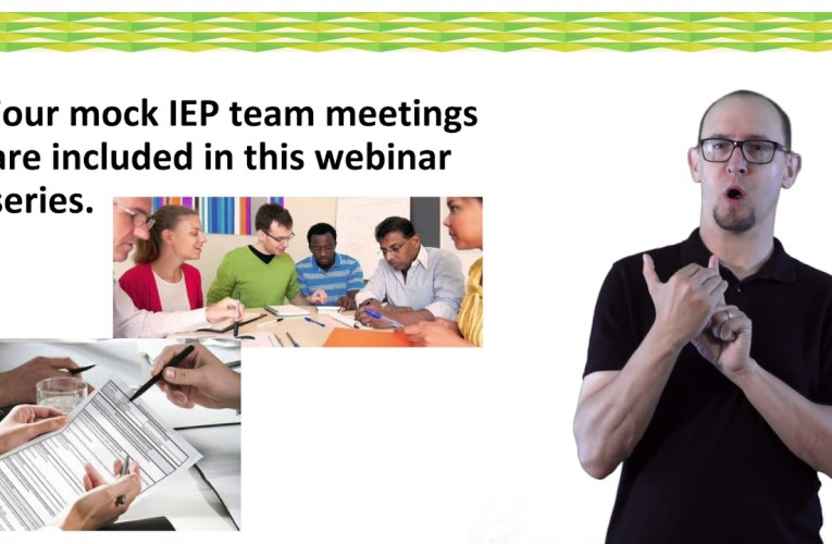 IEP Discussion Guide:  Introduction