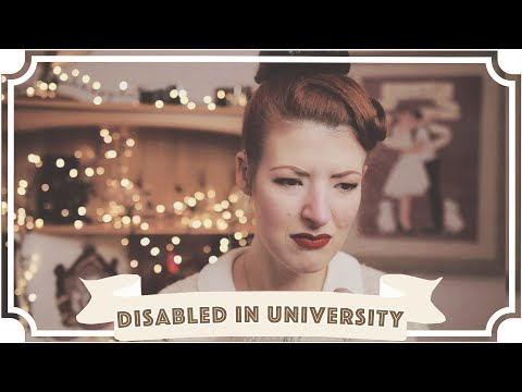 Being 'the disabled one' in university [CC]