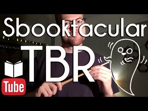 Sbooktacular TBR | BookTube #sbooktober #sbookyghost
