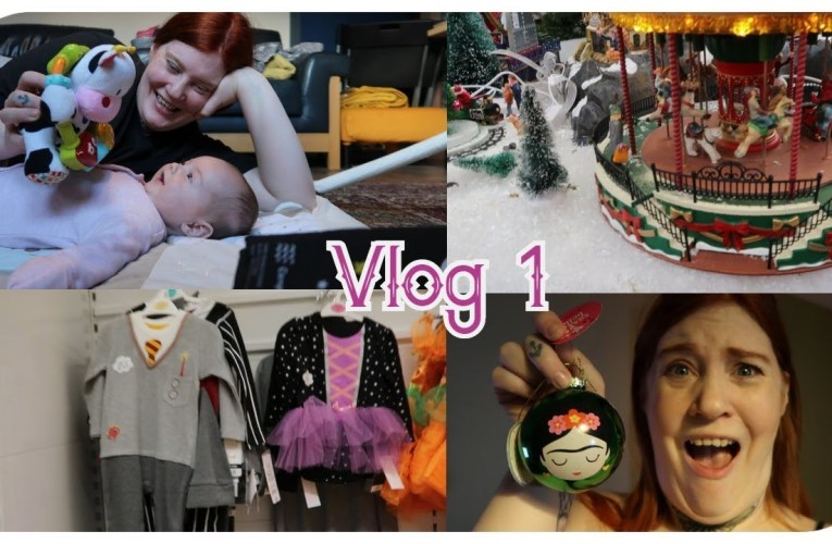 Garden center madness and baby Halloween||Vlog