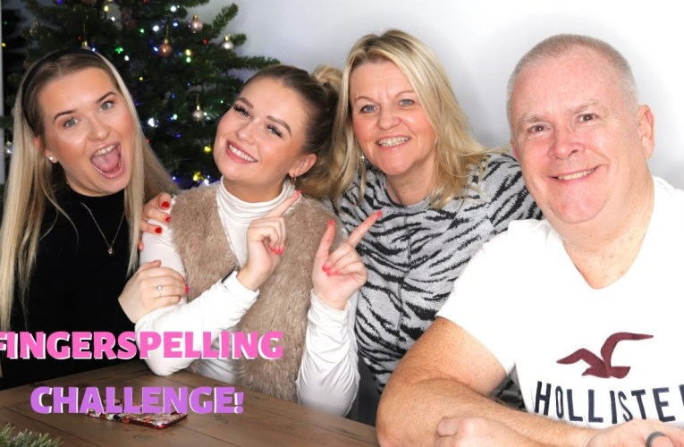 Can My Hearing Family Understand My Fingerspelling?