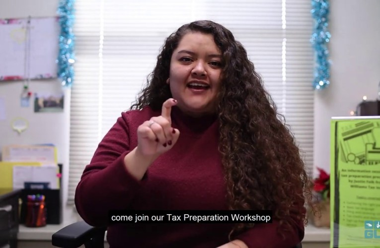 Tax Preparation Workshop 2020