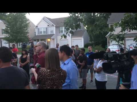 Vigil for Daniel K. Harris [Charlotte, NC]