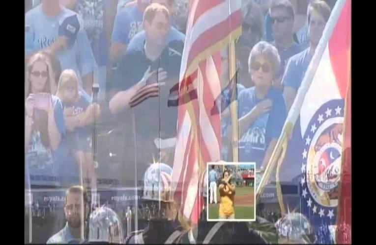 Kansas City Royals National Anthem – ASL
