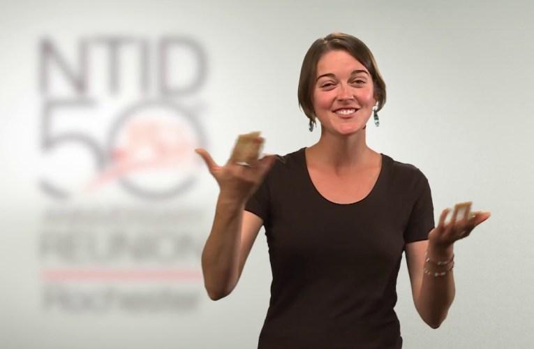 NTID 50th Anniversary Rochester Roadshow Announcement