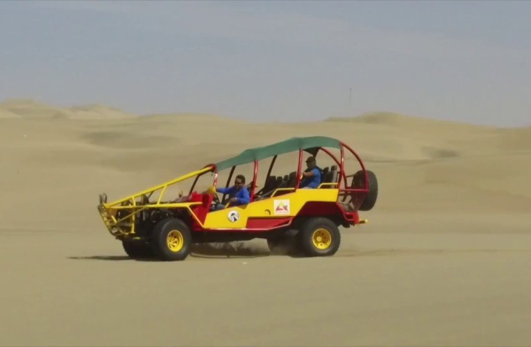 Peru's One of Most Popular Adventure Tours: Sandboarding in Huacachina
