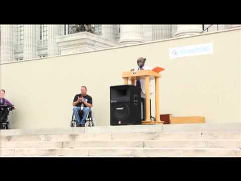 Hands Around the Capitol Speech by Opeoluwa Sotonwa