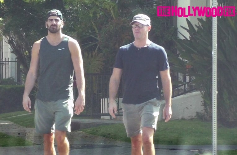Nyle DiMarco From Switched At Birth & DWTS Goes For A Walk With A Friend 3.30.17