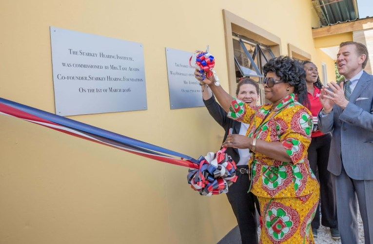 Starkey Hearing Institute Opens in Zambia