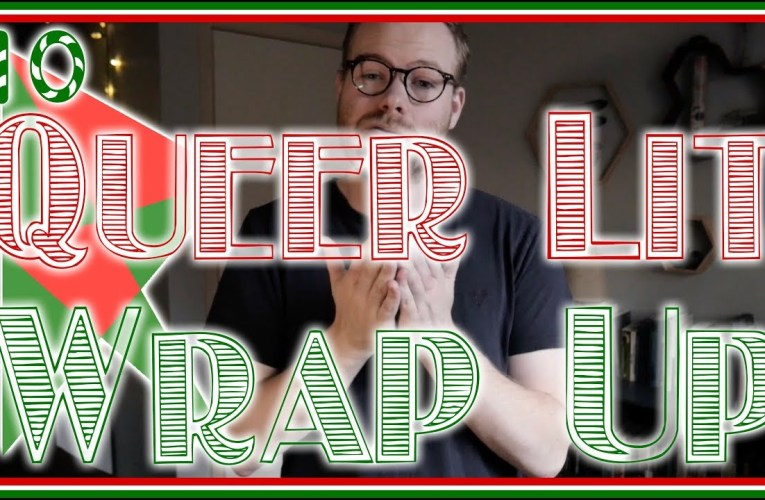 Queer Lit Readathon Wrap Up | Vlogmas Day 10 #queerlitread