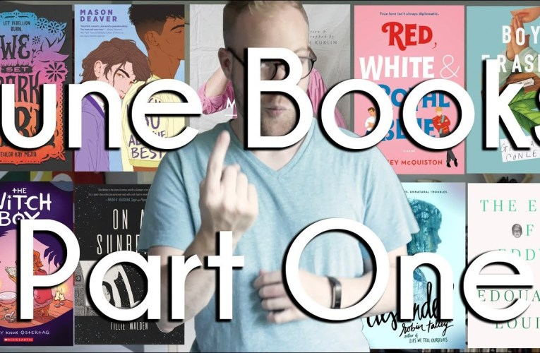 June Books Wrap Up Part 1 | BookTube