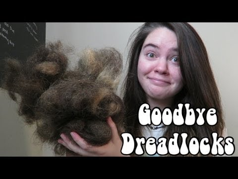 Brushing Out My Dreadlocks!