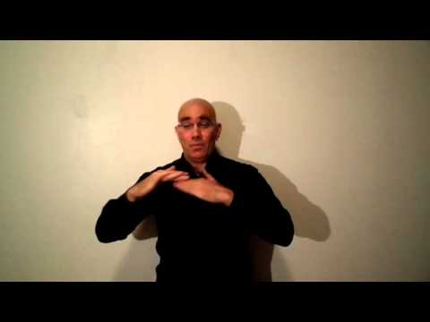 "Stephen Crane's ""A Man Said To The Universe"" translated into American Sign Language"