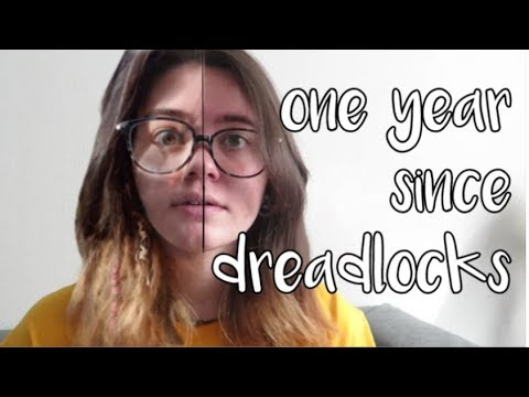one year after dreadlocks