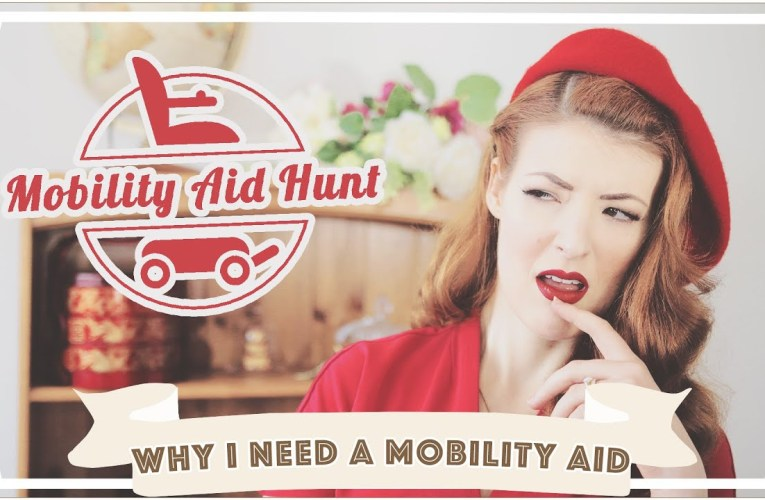 Why I Need A Mobility Aid (Scooters) // Mobility Aids 2 [CC]