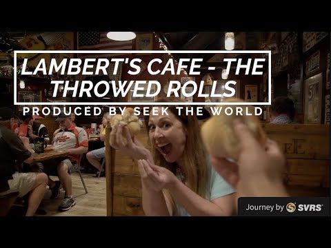 Lambert's Cafe – The Only Home of Throwed Rolls