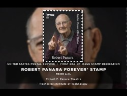 Robert Panara Stamp Dedication Ceremony