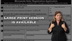 Paper Voter Registration