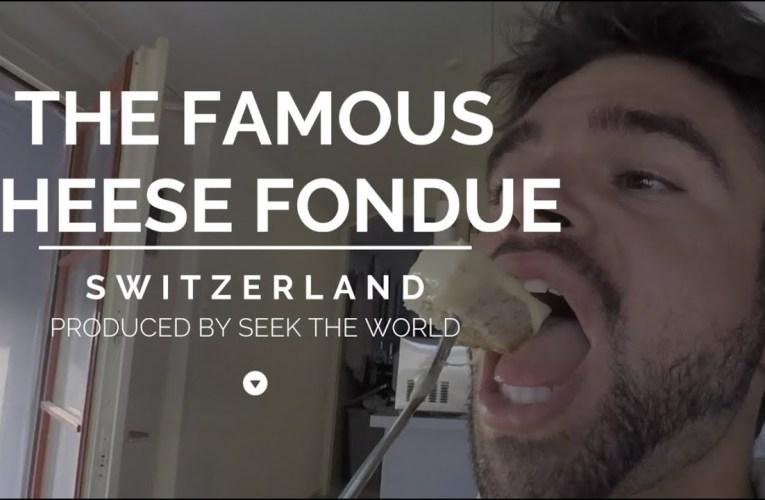 Switzerland's Famous Cheese Fondue!